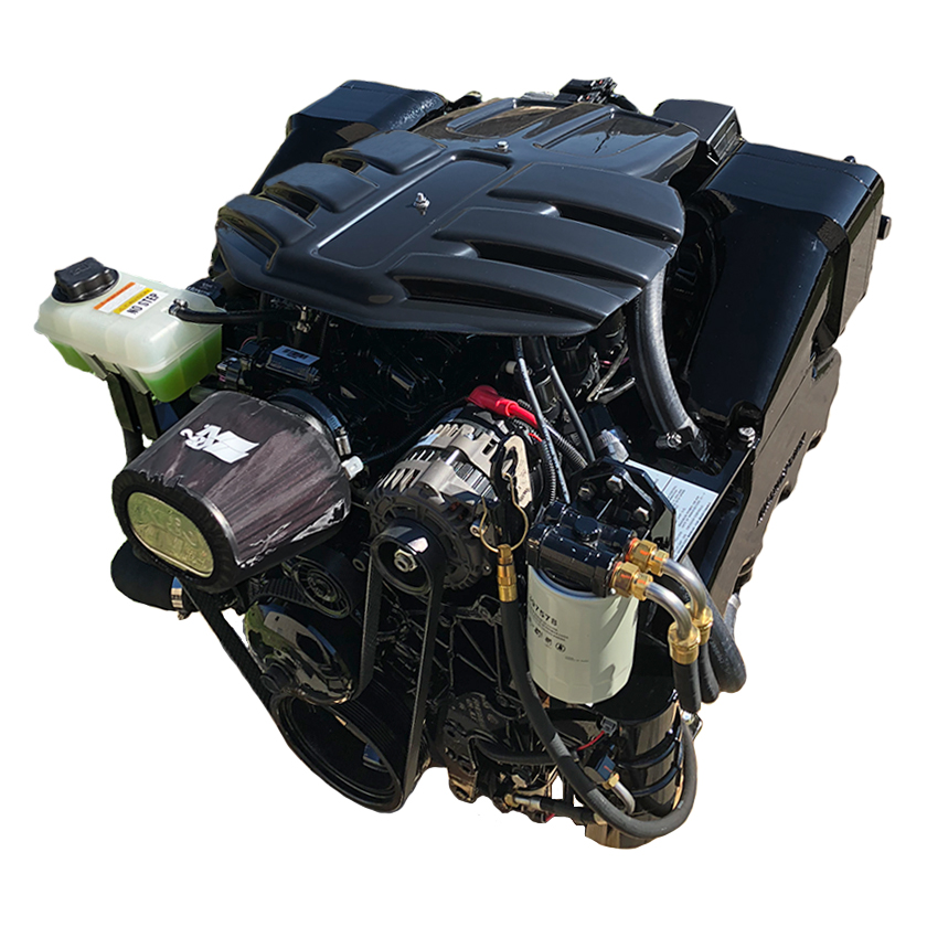 New 6.0L JetPac Engine with Catalyst Exhaust